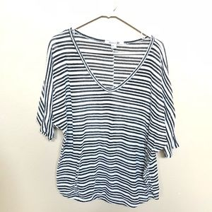 Forever 21 Sweaters - Black and white stripe dolman style sweater